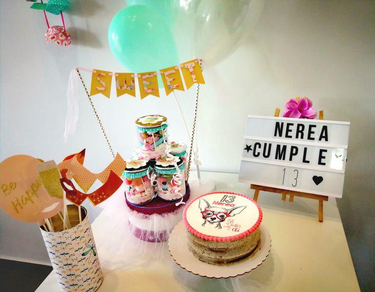 Celebración de cumpleaños en Gandia